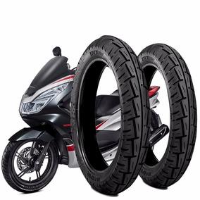 Kit Pneu Moto Honda Pcx150 D 90/90-14+100/90-14 T S/camara