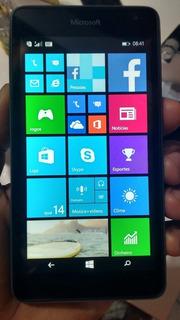 Celular Usado Microsoft Lumia 535 Desbl. 5 8gb 3g Wi-fi 5mp