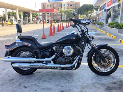 Yamaha Vstar 1100 Custom Negra - Oferta Especial