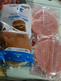 40 Hamburguesas + Pan O 60super Panchos +pan