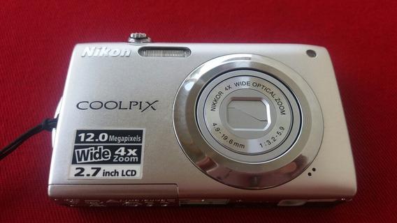 Camera Nikon Coolpix S3000 Erro Na Lente