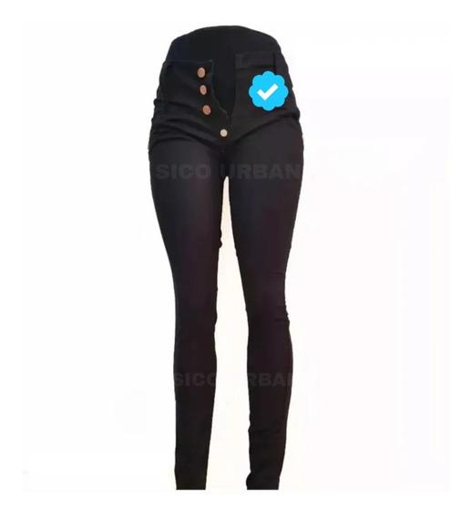 Pantalón Jeans Elastizados Chupin Damas Exelente 36 Al 56 +