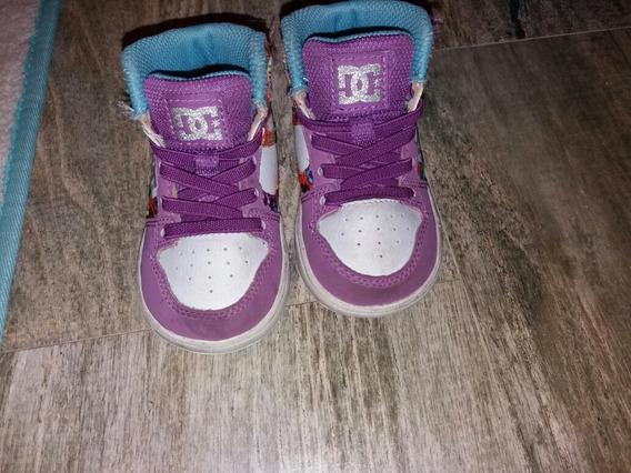 Zapatillas Botitas Dc Nena N° 20.5 Originales .cancherísimas