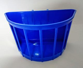 Cestinha De Plastico Azul Para Bicicleta Infantil Aro 16.