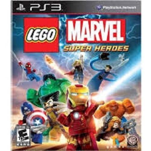 Jogo Lego Marvel Super Herois - Ps3 - Psn- Em Midiia Digital