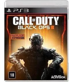Jogo Call Of Duty Black Ops 3 Ps3 Mídia Fisica Português