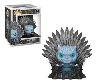 Funko Pop! Game Of Thrones Night King 74 [sitting On Throne]