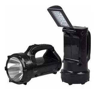 Lanterna Holofote Led Dp-770 Recarregável 2 Funções