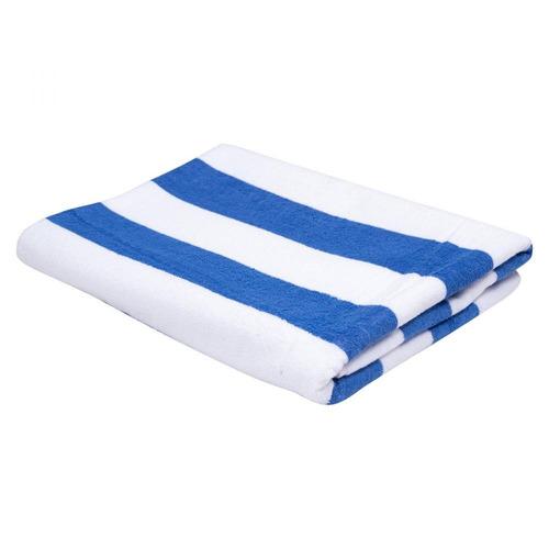 Toalha Para Piscina E Praia Teka Listras Ibiza Azul