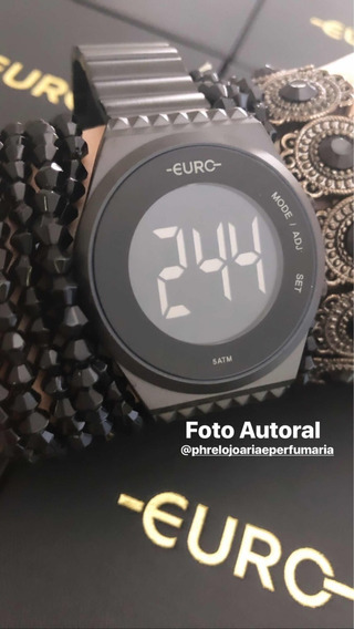Relógio Feminino Euro Eubjt016ad/4p Digital 5atm   Euro