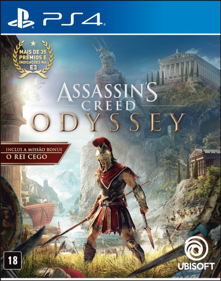 Assassins Creed Odyssey Ps4 Português - Completo