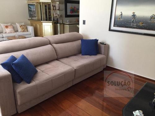 Imagem 1 de 22 de Apartamento A Venda No Bairro Santa Paula Em São Caetano Do - 966-1