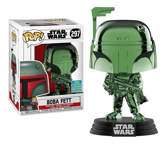 Funko Pop! Star Wars Boba Fett 297 Exclusivo Limitado.
