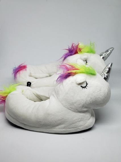 Pantuflas Unicornio Desde La Talla 20 Al 37