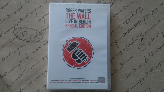 Dvd Roger Waters The Wall Live In Berlin Musikmercadolibre