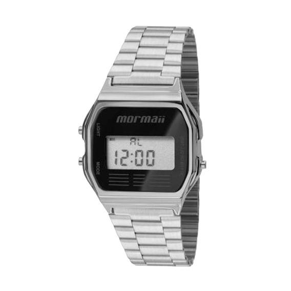 Relógio Mormaii Mojh02aa3p Cinza E Preto
