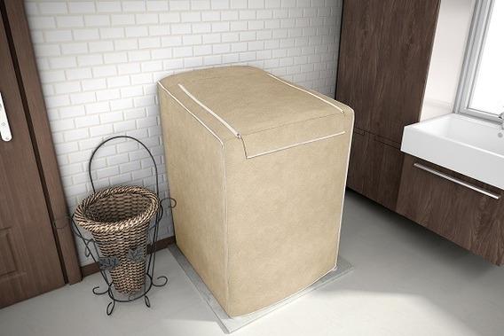 Capa Para Maquina De Lavar Roupas Com Zíper De 7 A 16 Kg