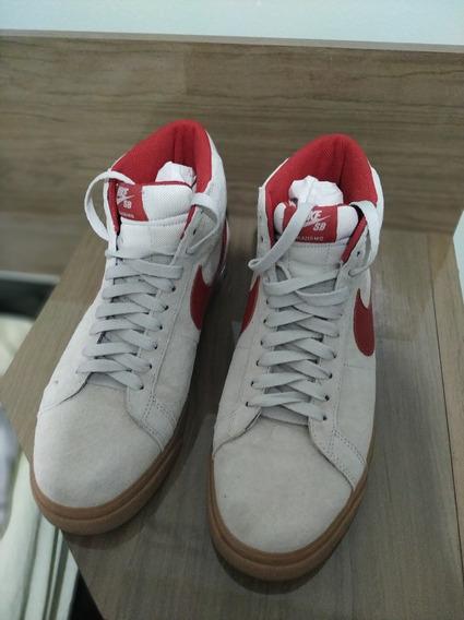 Tênis Nike Sb Blazermid Ftc Importado Dos Eua Edição Ilimita