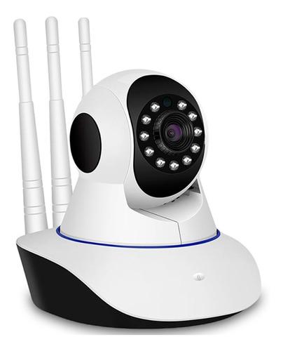Camara De Seguridad Ip Wifi Hd 720p Movimiento Dos Antenas!