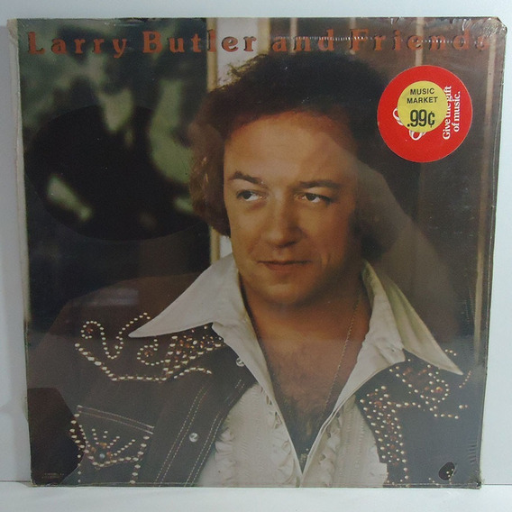 Larry Butler 1977 And Friends Lp Importado Lacrado