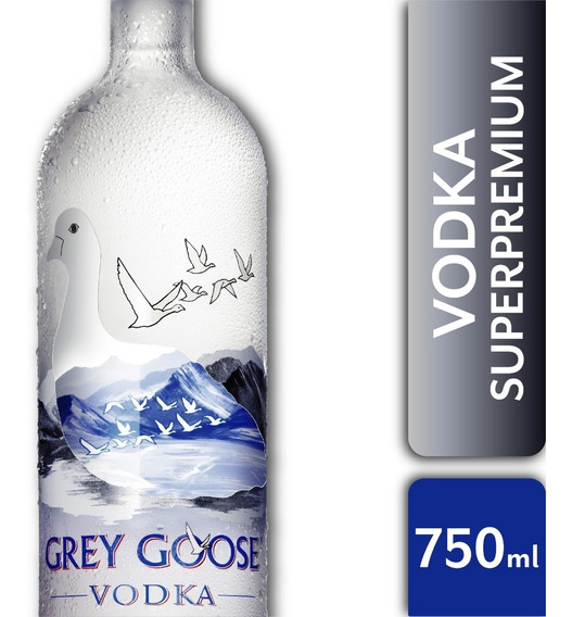 Botella Vodka Grey Goose 750ml