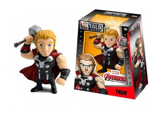 Figura De Acción Thor Avengers Marvel 10 Cm Metal Die Cast