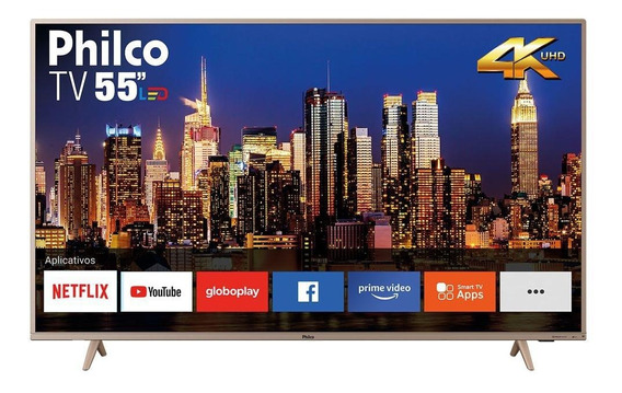 Smart TV Philco PTV55F62SNC LED 4K 55""