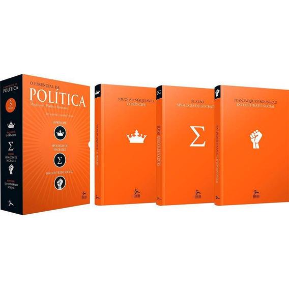 O Essencial Da Política - Box Com 03 Livros
