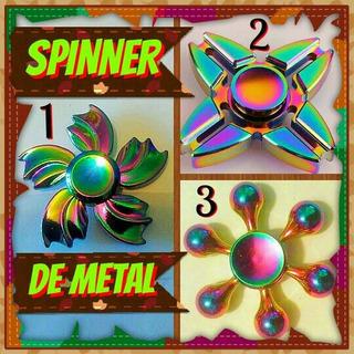 Spinner De Metal Tornasol La Novedad Del Momento Baratos