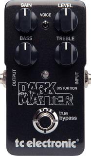 Pedal Tc Electronic Dark Matter Distorsion Para Guitarra Tv
