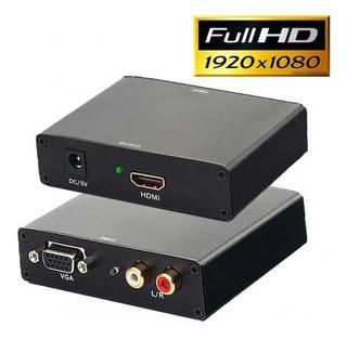 Conversor Hdmi A Video Vga Y Audio