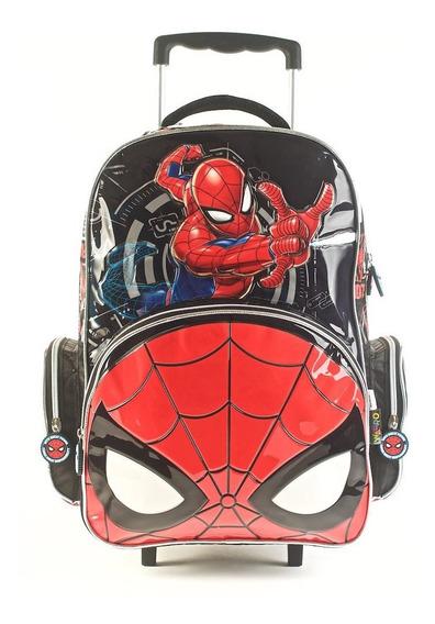Mochila Spiderman Go Spidey Con Carro 17