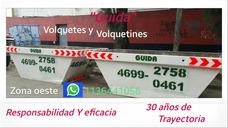 Alquiler De Volquetes Zona Oeste.