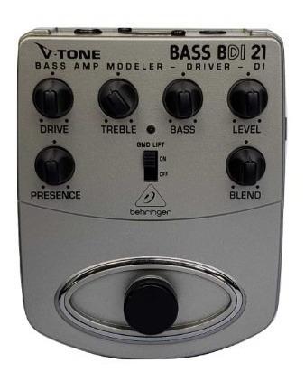 Pedal Behringer V Tone Bass Driver Di Bdi 21