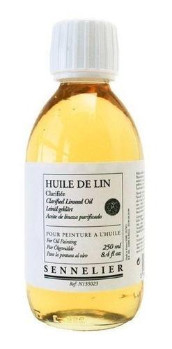 Aceite De Lino Clarificado Sennelier 250ml