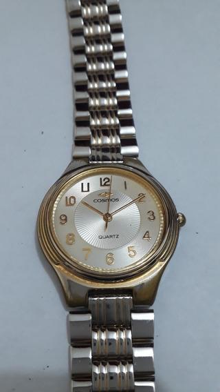 Relógio Cosmos Quartz Original - D27