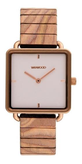 Relógio, Wewood, Leia Rose Gold White