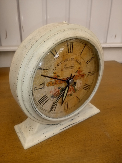 *-* Reloj Despertador Antiguo De Manecillas *-*