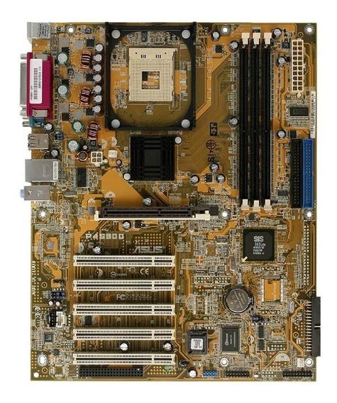 Placa Mãe Asus P4s800 Socket 478 + Garantia