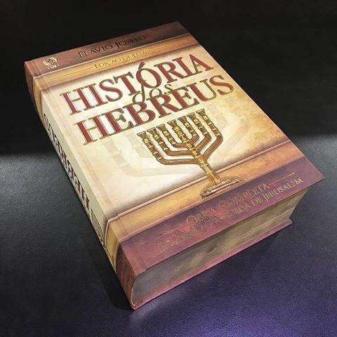 História Dos Hebreus - Flávio Josefo - Edição Luxo / Cpad