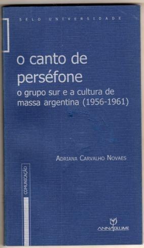 O Canto De Perséfone Adriana Carvalho N