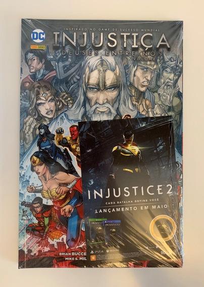 Hq Dc Panini Comics - Injustiça Deuses Entre Nós - Volume 7