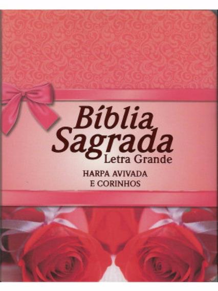 Bíblia Letra Grande Formato Compacto C/ Harpa Promoção