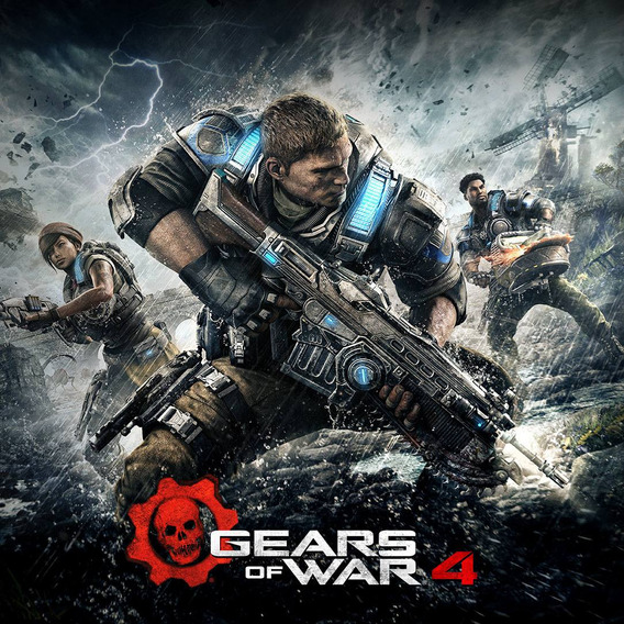 Gears Of Wars 4 Pc Dvd + 1 Brinde