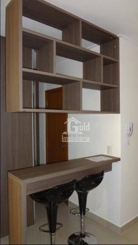 Apartamento Com 1 Dormitório Para Alugar, 45 M² Por R$ 1.750,00/mês - Bosque Das Juritis - Ribeirão Preto/sp - Ap3100