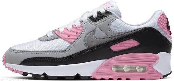 Zapatillas Nike Air Max 90 Mujer Cod 0074