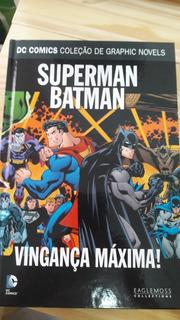 Superman Batman Vingança Máxima Eaglemoss 37