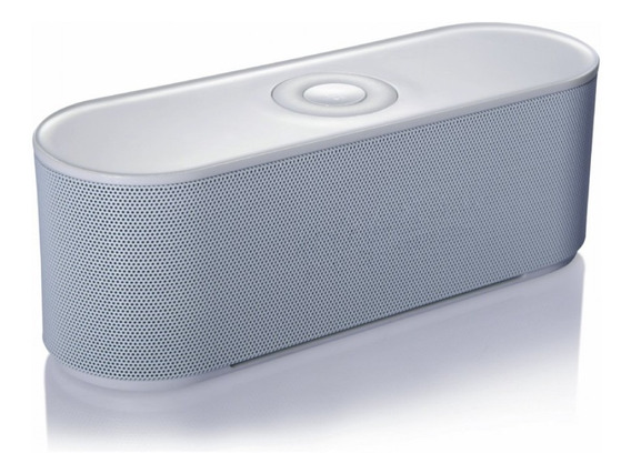Mini Caixa De Som Bluetooth Wireless - Branca