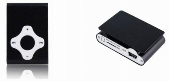 Mp3 Player De Clipe Pad + Tf Slot - Frete Fixo R$15,00
