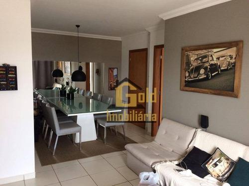 Apartamento Com 2 Dormitórios À Venda, 74 M² Por R$ 310.000,00 - Parque Industrial Lagoinha - Ribeirão Preto/sp - Ap2473